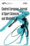 Central European Journal of Sport Sciences and Medicine